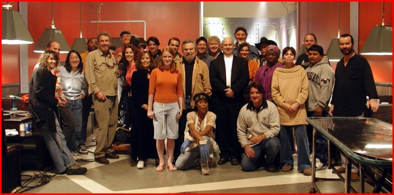 "Cast & Crew of ""The Mojo Café"""