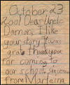 Letter to Uncle Damon from Marleina (Click to Enlarge)